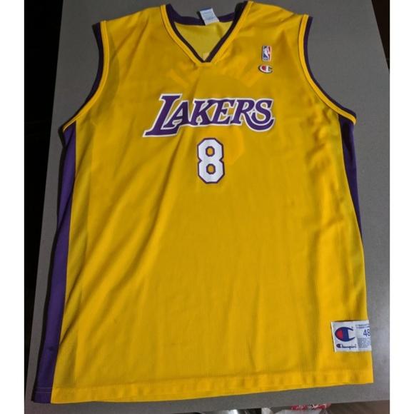 9d8cc5afe75 Shirts | Vintage Champion Los Angeles Lakers Kobe Bryant 8 | Poshmark